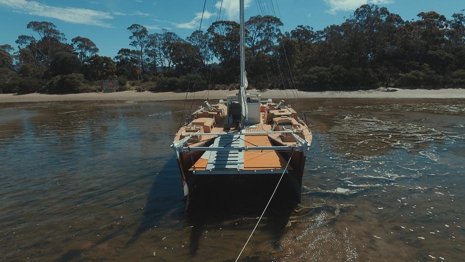 New stern ramp