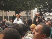 14-01-2011 devant le ministère de l'interieur