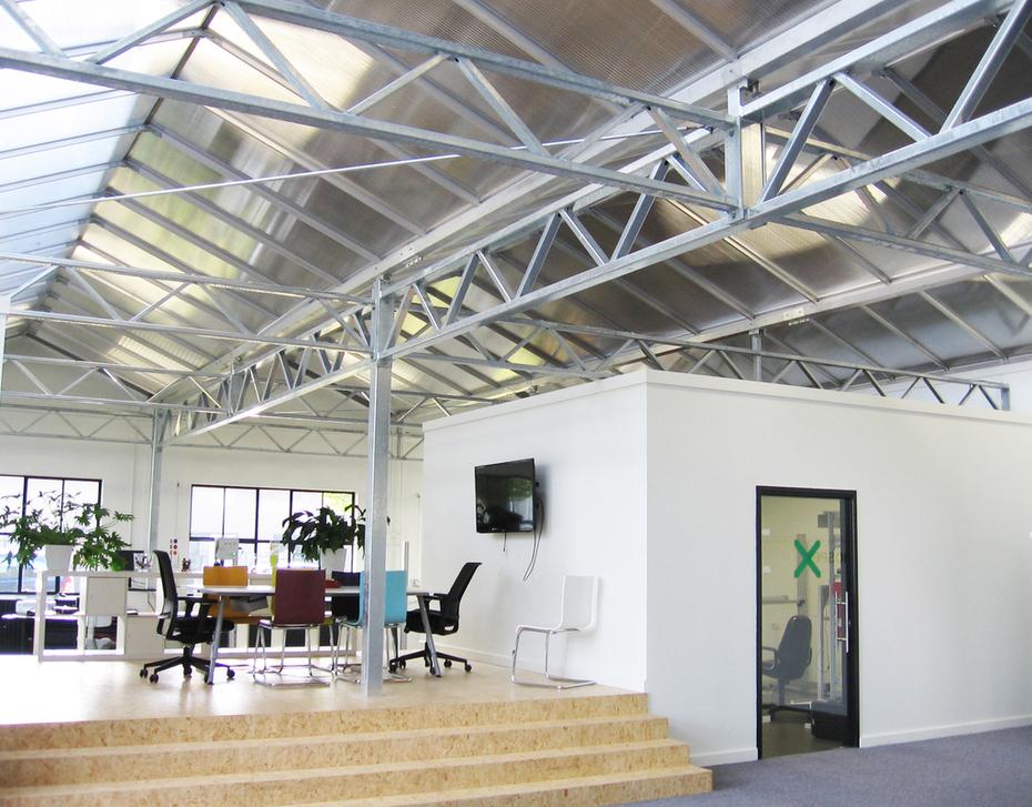 Oude Philips fabriek krijgt herbestemming als kantorencomplex.