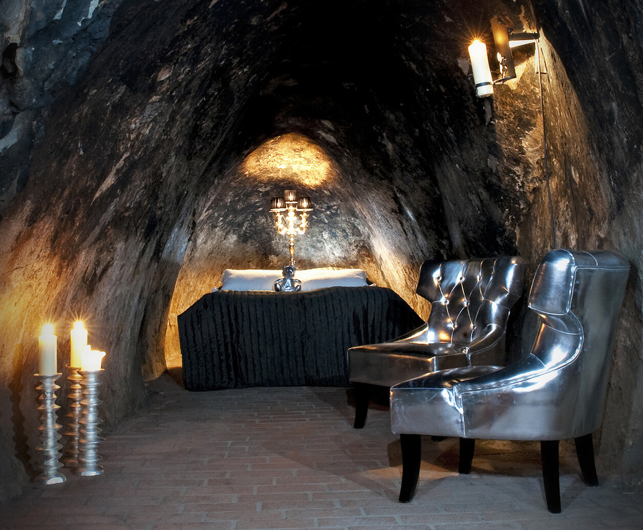155 meter onder de grond slapen in een oude zilvermijn. In Zweden kan het.