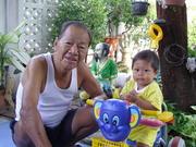 LooKmooH with GrandDad