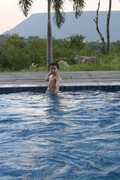 เล่นน้ำที่สวนเมืองพร พ.ค 53