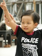 Today I'm policeman