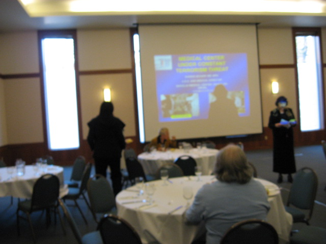 Powerpoint at PASCA Breakfast IMG_0342