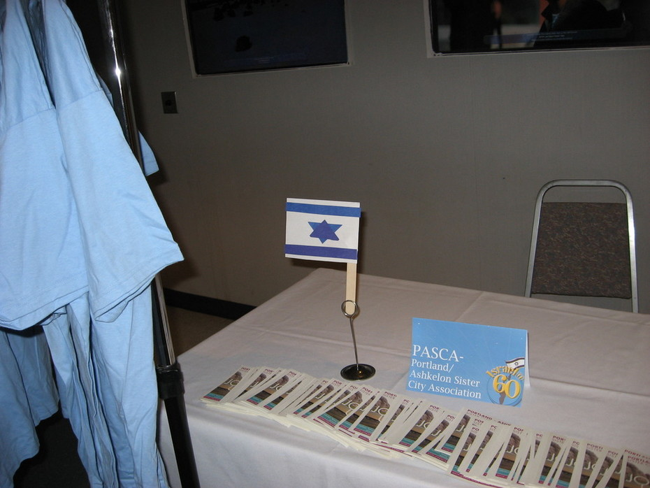 Our PASCA Table at Neveh Shalom