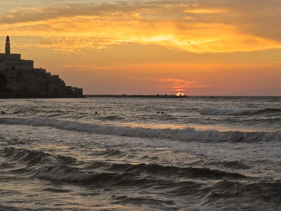 Yaffo beach