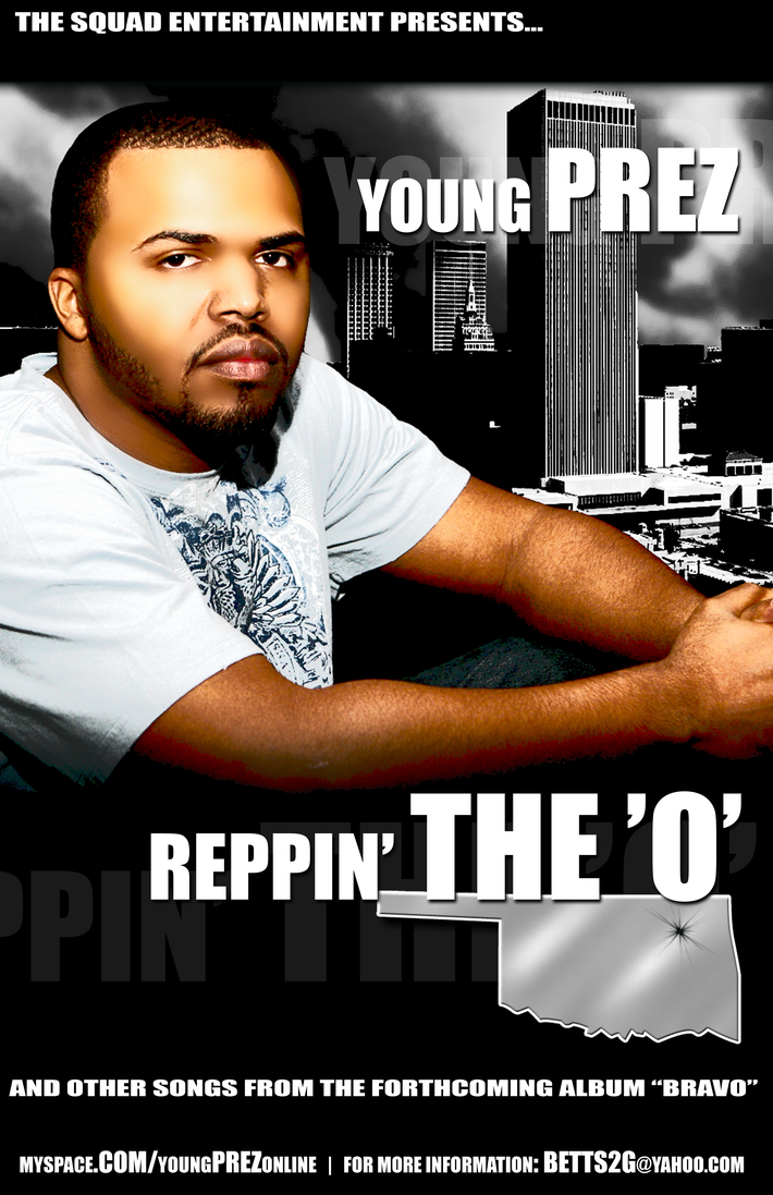 YOung Prez - Reppin' The O - Poster copy