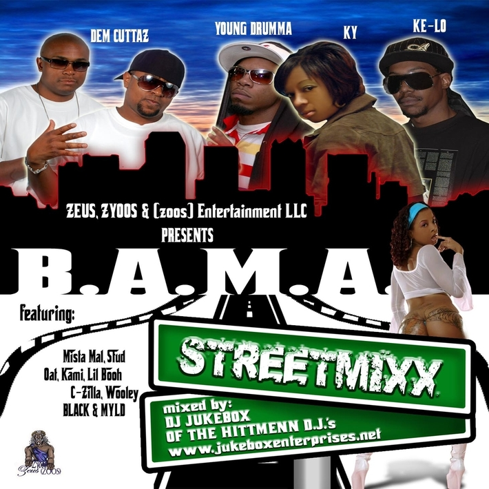 front cover bama streetmixx