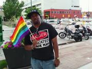 Khalil Amani at Denver Gay Pride