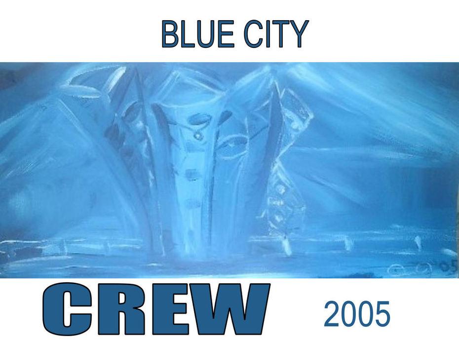 BLUE CITY CREW PRINT