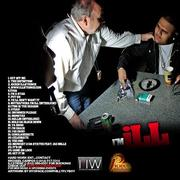 MuthaF*cka I'm iLL Mixtape Back Cover