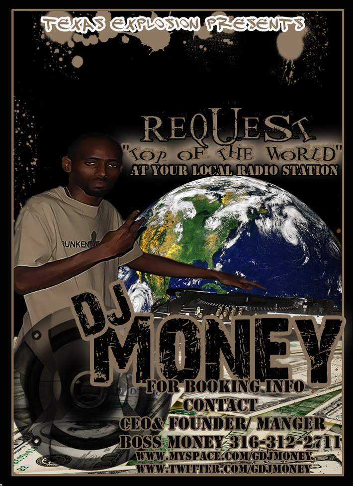 dj money flyer