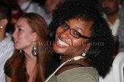 me smiling at soul comedy cafe sept 2010