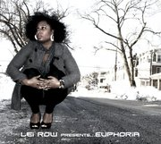 lei row presents euphoria front album cover
