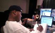 Breaka in the studio