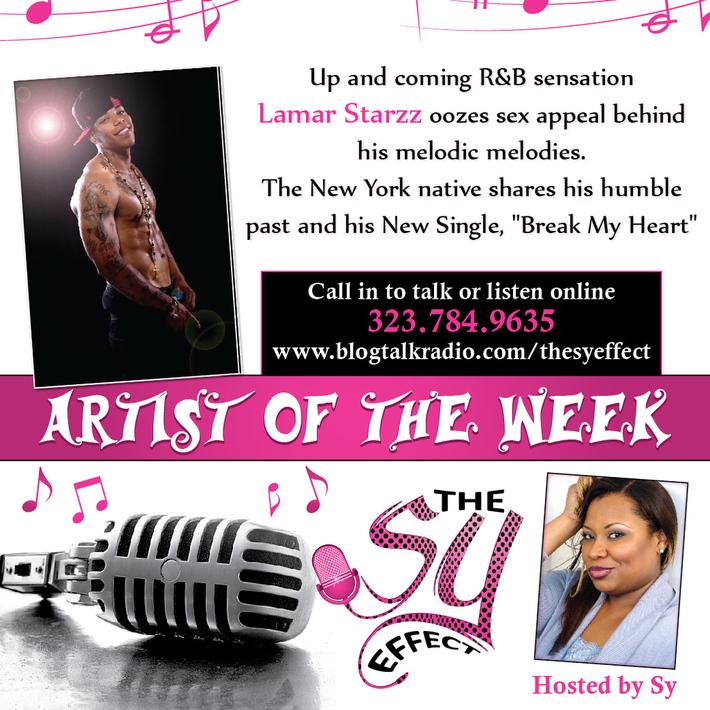 R&B Artist Lamar Starzz