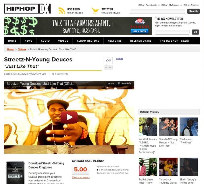 Streetz-n-Young Deuces | www.Streetz-n-YoungDeuces.com