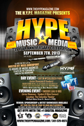 The Hype Magazine 11th Anniversary Flyer