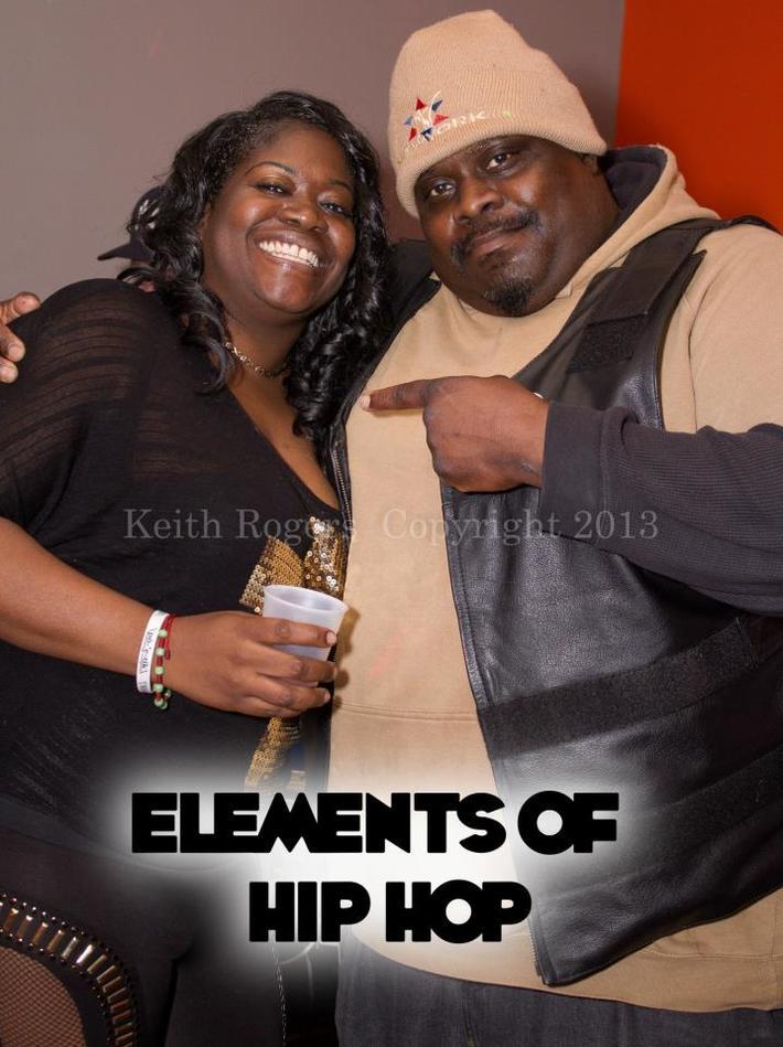 CO CO & DJ FLATY FLAT BLACK