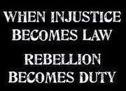 injustice and ribellion