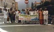 S.V.Govindan marching for peace