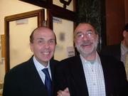 Guaraldi e Umberto Paolucci a San Marino 22.4.05