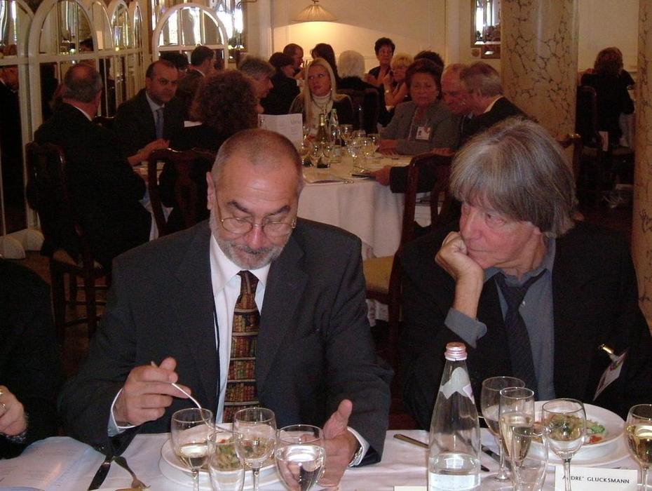 Guaraldi e André Glucksmann, Premio PioManzu 2004