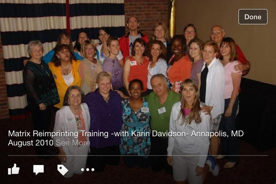 MATRIX REIMPRINTING  TRAINING - ANNAPOLIS 2010