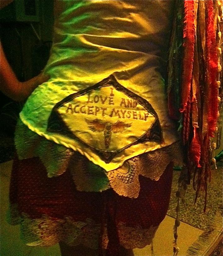 EFT inspired clothing modeled by Sonya Sophia