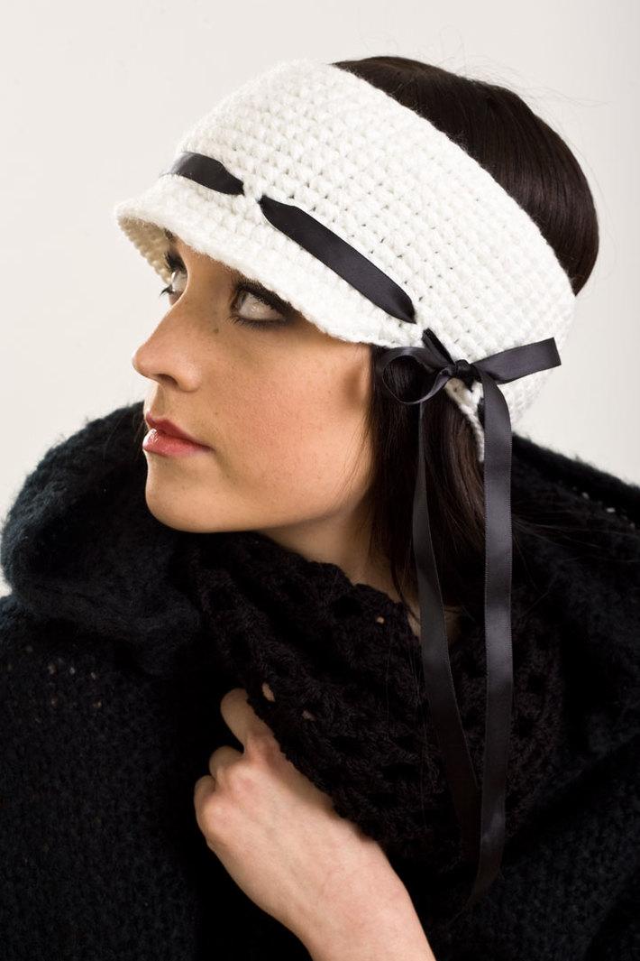 The Wimbledon Headband with ribbon detail