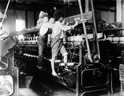 Child worker 1909 in Georgia