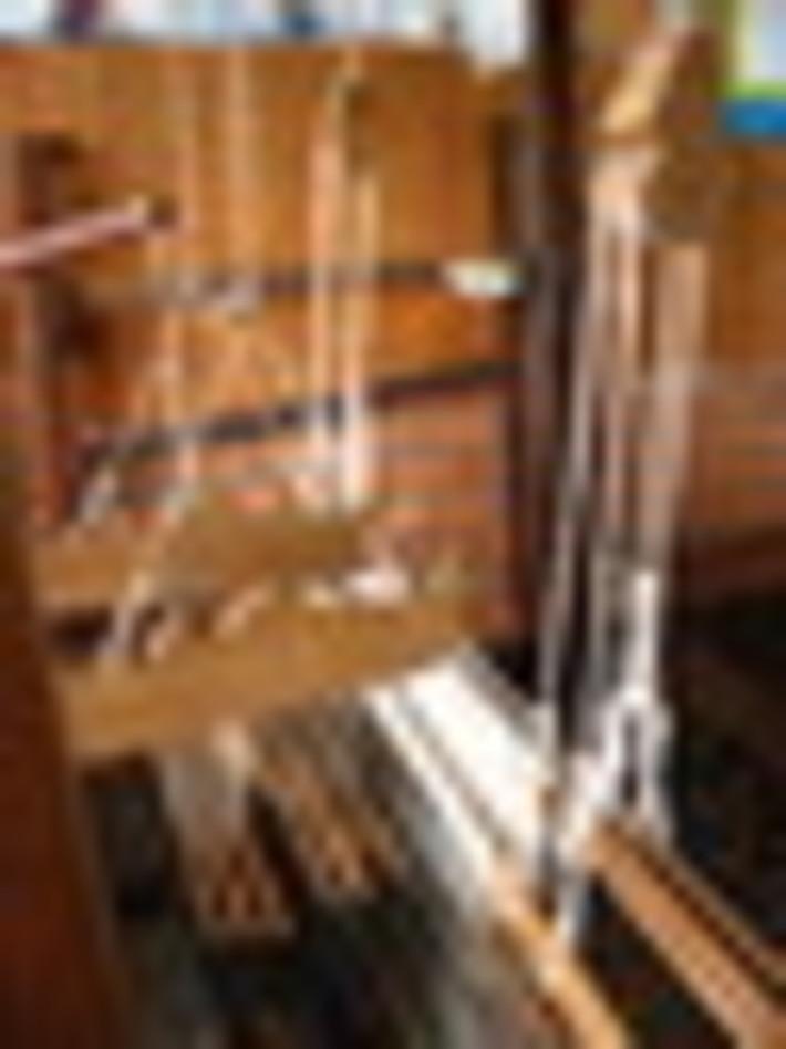 Intricate weaving loom