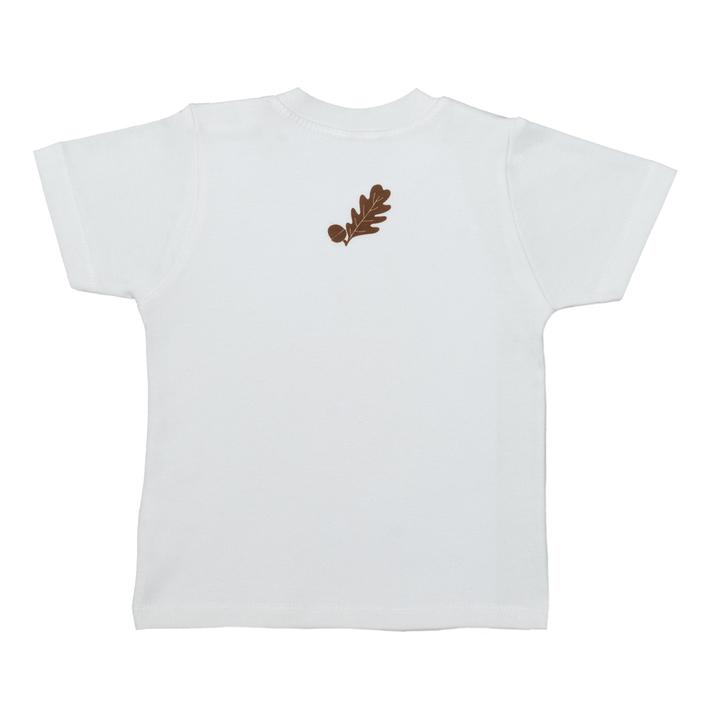 British Hedgehog Short Sleeve Baby T Shirt - back
