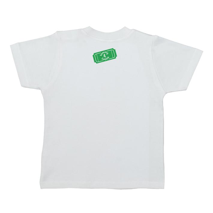 British Dodgem Short Sleeve Baby T Shirt - back