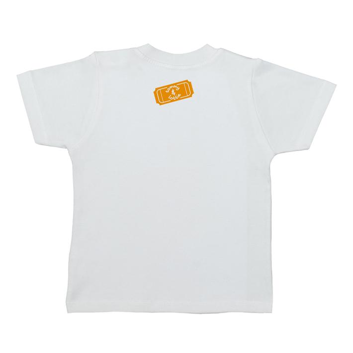 British Carousel Horse Short Sleeve Baby T Shirt - back