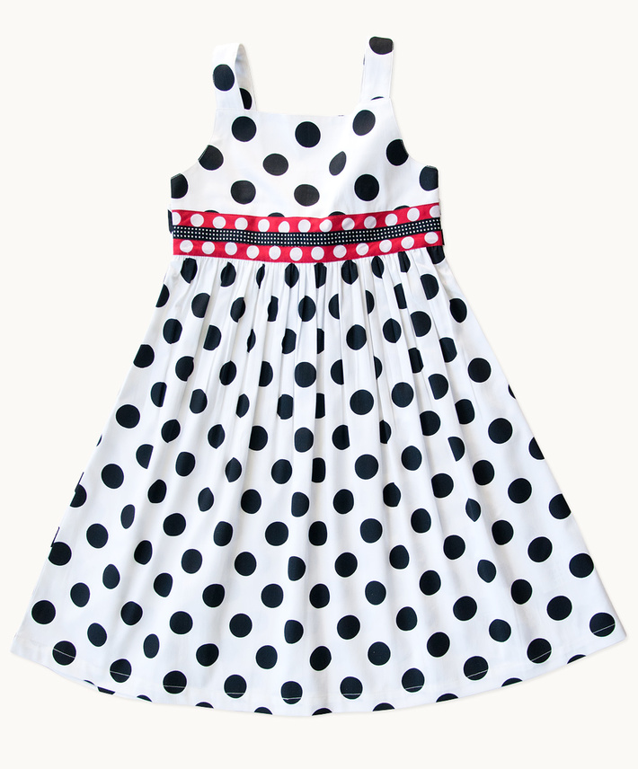 Polkadot Delight Cotton Sundress