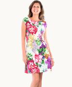 Eye Catching Maui Floral Dress