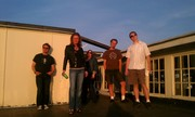 "My band ""Throwing Stones"""