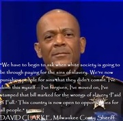 David Clarke, Wisconsin sheriff: 'Al Sharpton ought to go back into the gutter he came from'