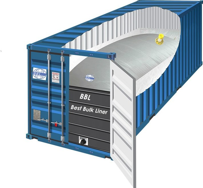 20 Container Dry Van Flexitank BBL