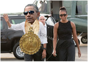 President Obama in Chains