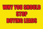 stop buying leads
