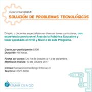 Curso virtual principios de la robótica_Solución de problemas