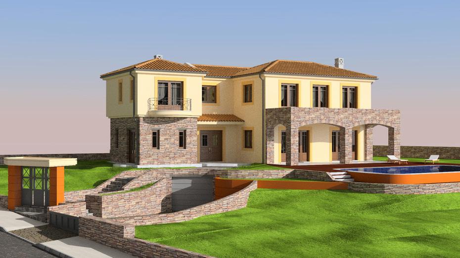 Suburban house - work in progress