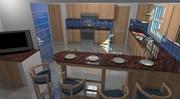 cocina casa de playa fao santoni