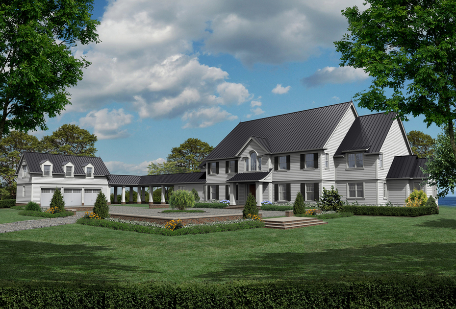 Colonial with Detached Garage