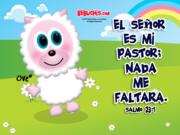 """Wallpaper Cristiano  800 x 600 """"El Señor es mi Pastor"""""""
