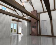 Converted Garage Interior
