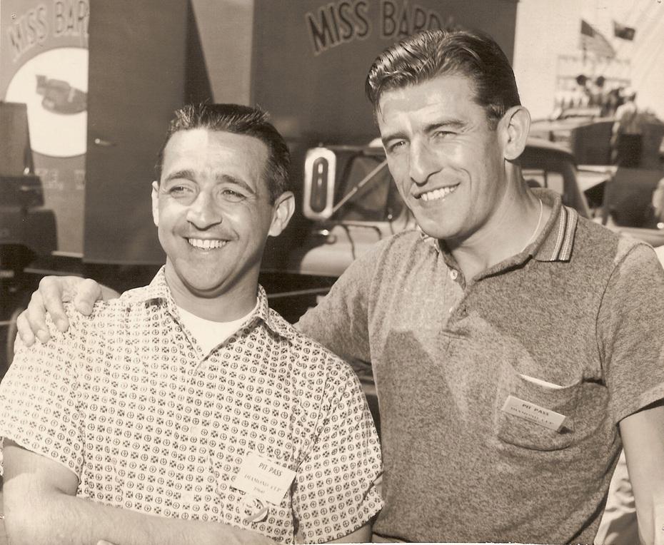 Jack Regas and Mira Slovak 1960