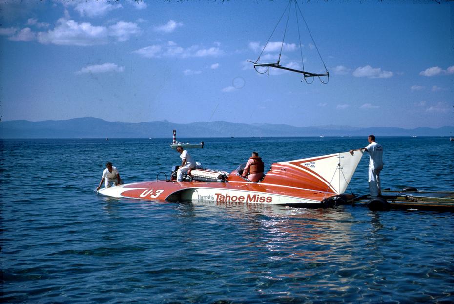Beautiful Lake Tahoe and Harrah's Tahoo Miss